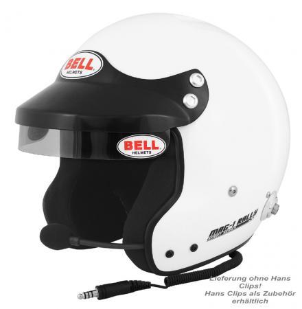 Bell Helm MAG 1 Rally FIA8859-2015  Helmgröße: 56-57cm (Gr.S) mit Sprechanlage