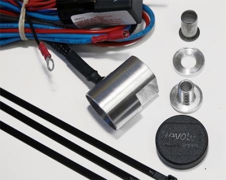 Revotec Thermoschalter einstellbar  für Silikonschläuche selbstabdichtend