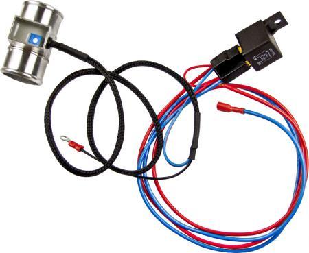 Revotec Thermoschalter einstellbar  Schlauchanschluss 32mm