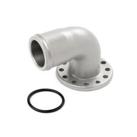 Anschluss 90° für Elektrische WP Aluminium 35mm  für EWP 80 + 130 Davies Craig