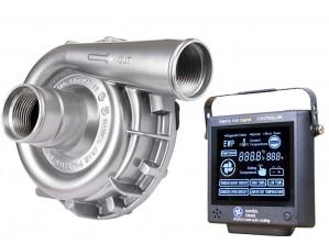 Set aus EWP115 Aluminium 12V und Kontrollpanel (neue Version) Davies Craig