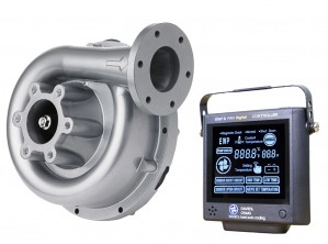 Set aus EWP130 Aluminium 12V und Kontrollpanel (neue Version) Davies Craig