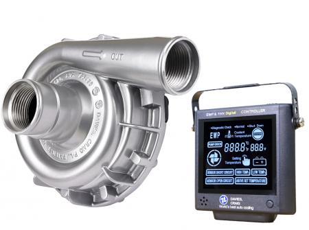 Set aus EWP115 Aluminium 12V und Kontrollpanel (8002) Davies Craig