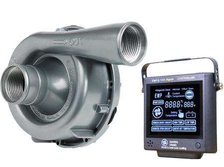 Set aus EWP150 Aluminium 12V und Kontrollpanel (neue Version) Davies Craig