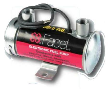 Facet elektrische Benzinpumpe Silver Top 0,35 bar 136 ltr./h