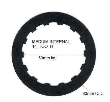 Gripper® interne Sperrlamelle 1,5mm  mittlere Größe