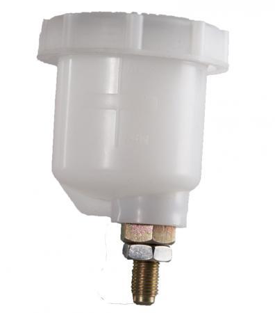 Bremsflüssigkeitsbehälter klein für Girling / Wilwood / OBP / Beltenick  mit 7/16 UNF Anschluss
