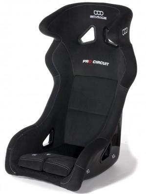GP Rennsitz Pro Circuit Farbe: schwarz FIA 8855-1999