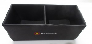 Beltenick Helmbox schwarz  für 2 Helme