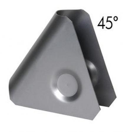 Rohrverstärkung 45°  (Knotenblech)