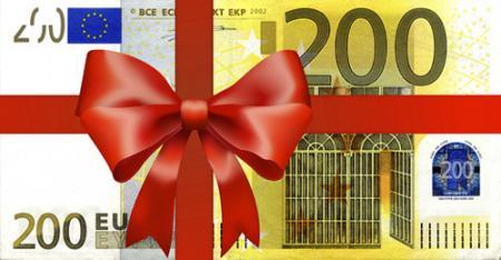 Geschenkgutschein Gutscheinwert: 200.- €