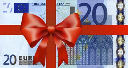 Geschenkgutschein Gutscheinwert: 20.- €