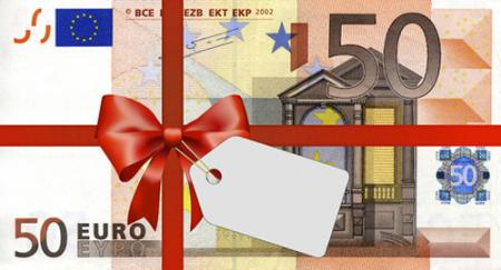 Weihnachtsgutschein Gutscheinwert: 50.- €