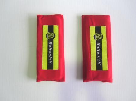 Beltenick® Gurtpolster 75mm rot  Set aus 2 Stück
