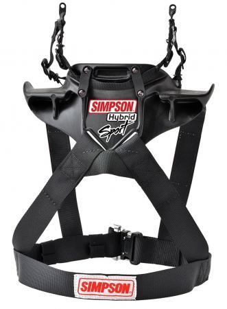 Simpson Hybrid Sport Größe: XS  (HANS Clips)