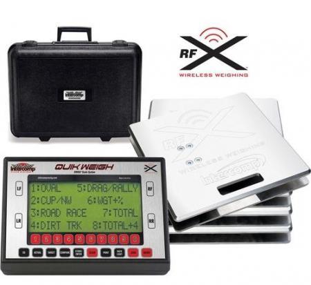 Intercomp Radlastwaage SW 650 RFX   700kg / Platte