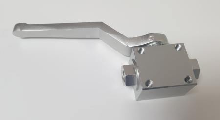 Absperrventil Aluminium   Anschlüsse 1/8 BSP innen