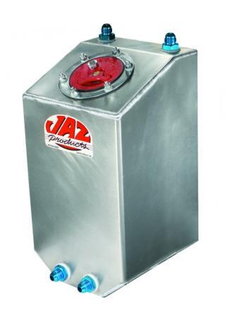 JAZ Benzintank Aluminium Vertical 3gal  ca. 11 ltr. schaumgefüllt