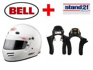 HANS + IntegralhelmBell® Sport 5 - Kombi Angebot mit HANS System