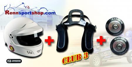 HANS 3 Komplettangebot Touring Beltenick® Stand 21 - Kombi Angebot