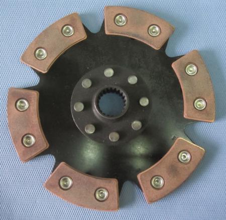 Kupplungsscheibe Sinterstern 6-Pad Durchm. 240   Verzahnung 1x24 Subaru (Spline S)
