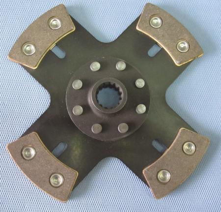 Kupplungsscheibe Sinterstern 4-Pad Durchm. 200   Verzahnung 7/8 x21 Verzahnung Honda