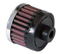 K&N Universalluftfilter, 10mm Flansch  Rund Zylindrisch, 51x51 38lg