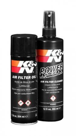K&N Reinigungsset  Öl und Reiniger