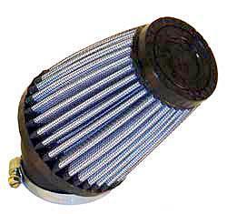 K&N Universalluftfilter, 43mm Flansch  Konische Rundform, 76x51 102lg