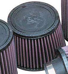 K&N Universalluftfilter, 62mm Flansch  Konische Rundform, 140x114 102lg