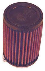 K&N Universalluftfilter, 65mm Flansch  Rund Zylindrisch, 114x114 127lg