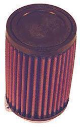 K&N Universalluftfilter, 65mm Flansch  Rund Zylindrisch, 140x140 76lg