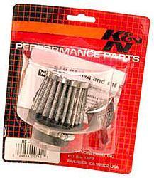 K&N Universalluftfilter, 35mm Flansch  Konische Rundform 63x51 57lg