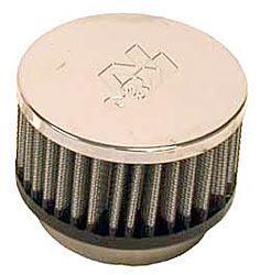 K&N Universalluftfilter, 57mm Flansch  Rund Zylindrisch, 89x89 51lg