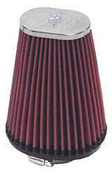 K&N Universalluftfilter, 62mm Flansch Oval Konisch, 114x95 76x51 152lg