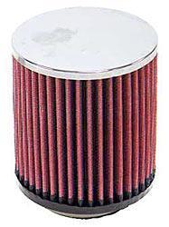 K&N Universalluftfilter, 73mm Flansch Rund Zylindrisch, 114x114 127lg