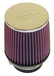 K&N Universalluftfilter, 76mm Flansch Konische Rundform, 127x114 127lg