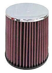 K&N Universalluftfilter, 63mm Flansch Konische Rundform, 140x114 152lg