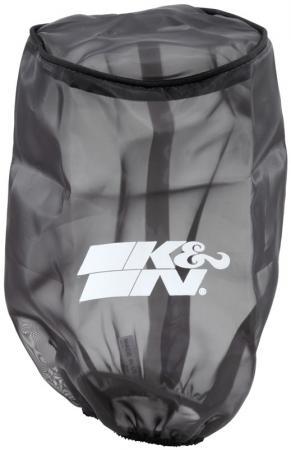 K&N Filter Wrap schwarz  Konische Rundform 152x121 228lg,