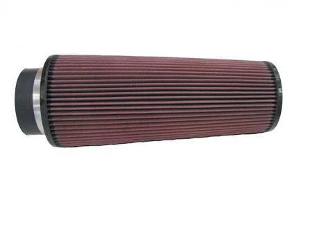 K&N Universalluftfilter, 102mm Flansch  Konische Rundform, 152x121 355lg