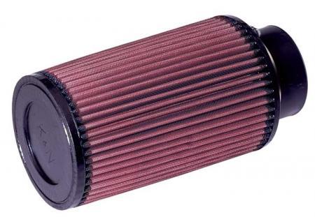 K&N Universalluftfilter, 76mm Flansch Konische Rundform 127x121 203lg,
