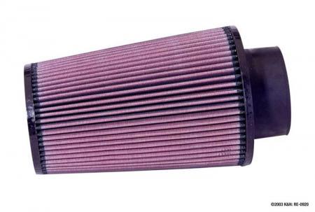 K&N Universalluftfilter, 89mm Flansch Konische Rundform, 152x89 228lg