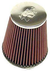 K&N Universalluftfilter, 102mm Flansch Konische Rundform, 165x114 178lg