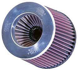 K&N Universalluftfilter, 76mm Flansch Konische Rundform, 152x133 127lg