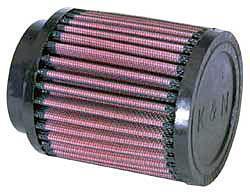 K&N Universalluftfilter, 62mm Flansch Rund Zylindrisch, 89x89 102lg