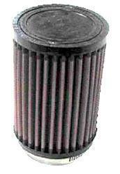 K&N Universalluftfilter, 62mm Flansch Rund Zylindrisch, 89x89 127lg