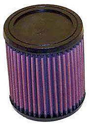K&N Universalluftfilter, 62mm Flansch Rund Zylindrisch, 114x114 127lg