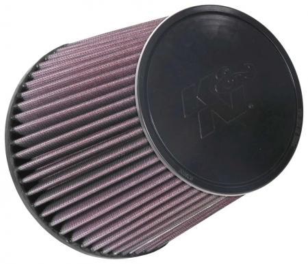 K&N Universalluftfilter, 127mm Flansch  Konische Rundform, 165x127 165lg