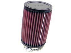 K&N Universalluftfilter, 70mm Flansch Rund Zylindrisch, 102x102 152lg