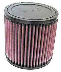 K&N Universalluftfilter, 76mm Flansch  Rund Zylindrisch, 127x127 127lg